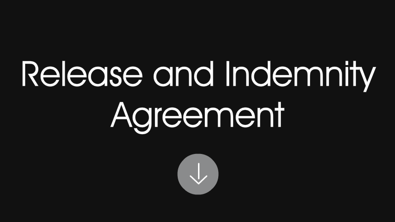 Release and Indemnity Agreement Download